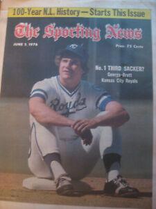 The Sporting News June 5, 1976, George Brett, Kansas City Royals