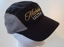 Michelob Ultra Black / Grey Adjustable Cap Hat