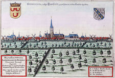Reproduction plan ancien - Hondschoote vers 1649