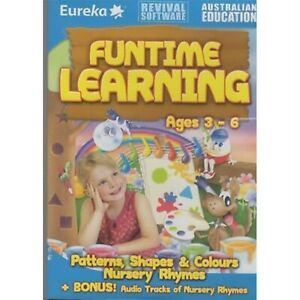 Funtime Learning (Pc Learning Game) ( Brand New )( Fast Free Shipping)