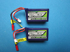 TURNIGY NANO-TECH 850mAh 3S 11.1v 25C LIPO BATTERY JST HELI TREX 250 QUAD CAR RC