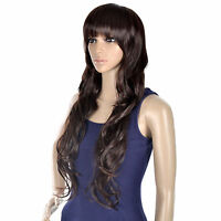 Women Long Curly Full Hair Wigs Cosplay Party Costume Fancy Dress Halloween