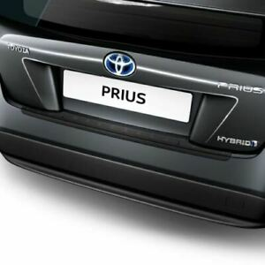 Genuine Toyota Prius 2015-20 Rear Bumper Protection Plate Black PW17847004