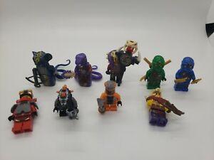 LEGO Ninjago 70749 Tournament of Elements Jungle Robe Minifigure Lot Plus Extras