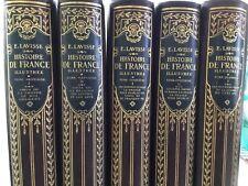 Histoire de France Illustrée - Ernest Lavisse - 5 Tomes