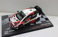 New 1/43 Scale Diecast Model Car Toyota Yaris WRC Rally Sweden 2017