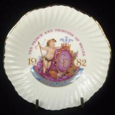 Elizabethan Birth of Prince William Commemorative Trinket Dish 1982