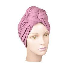 Womans Rose Turban Headwrap Pretty Knot Head Wrap Soft Hat Stretchy Chemo Cap