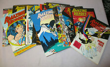 1980's Amazing Heroes Comic Book News Magazine Choice Of 20 Issues Vol.Discount