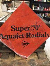 Dunlop Aquajet Repro Sign