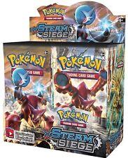 3 Pokemon Xy Steam Siege Booster Packs! 3x