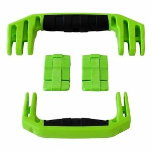 New Pelican Lime Green 1510 / 1560 replacement latches (2) & handles (2) kits.