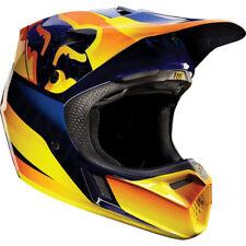 Casco Fox V3 Vuelo Motocross Mx-Naranja Enduro MTB BMX MIPS