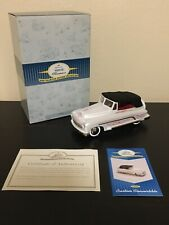 1998 Garton Hallmark Kiddie Car Classics 1950's Custom Convertible Pedal Car Coa