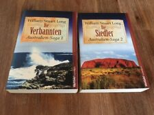 Die Verbannten, Die Siedler, Australien-Saga 1 & 2, William Stuart Long 🇦🇺