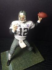 "Ken Stabler Oakland Raiders Jersey Custom 6"" Mcfarlane Figure"