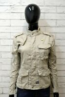 Giacca Blazer Giubbotto Donna G-STAR Taglia Size S Cappotto Nero Jacket Woman