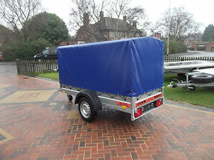 8FT x 4FT Trailer Small BOX Car Camping  2,50 x 1,12 m + 100 cm TOP COVER