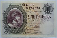 Billete 1000 Pesetas (Carlos I) - España 1940 ( Banknote Spain ) (Charles V)