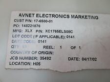 LOT X 98 XC1765ELS08C Xilinx IC PROM SER C-TEMP 3.3V 8-SOIC