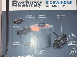 Bestway Sidewinder 110-120V Air Pump ~ New In Box