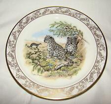 Lenox Nature's Nursery Emperor Snow Leopards Ltd Ed Porcelain Plate Lynn Chase