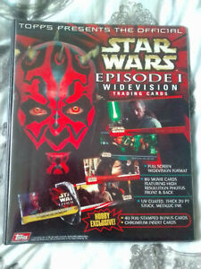 Star Wars Near Complete TPM S1 Widevision Trading Card Set Topps 1999 HOBBY