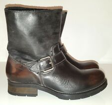 DIESEL Boots Stiefeletten braun / schwarz Gr. 39, UVP 250€ NEU!