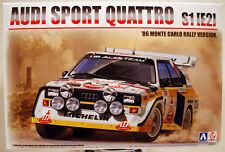 1986 Audi Quattro S1 (E2) Monte Carlo Rallye 1:24 Aoshima Beemax 103982