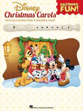 "RECORDER FUN! ""DISNEY CHRISTMAS CAROLS"" MUSIC BOOK-BRAND NEW ON SALE SONGBOOK!!"