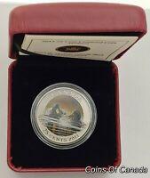 2013 Canada 25 Cent Coloured Coin - Mallard Duck #coinsofcanada