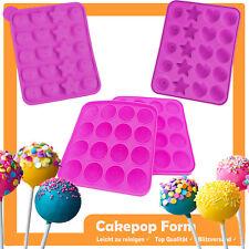 Cake pop Baker/maker forma molde de silicona forma redonda bola pastel mini Panecillo