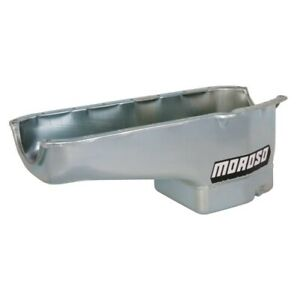 "Moroso 20180 Street Strip Engine Oil Pan For Small Block Chevy, 8-1/4"" Deep NEW"