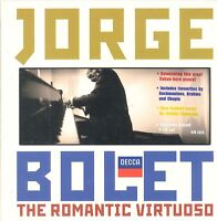 Jorge Bolet The Romantic Virtuoso CD NEW London Symphony Orchestra