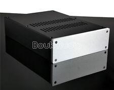 W215×H70×D308mm Aluminium Chassis Pre-Amplifier Case Amp Enclosure Gehäuse DIY