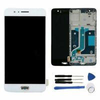 LCD Display Touch Screen Frame Digitizer Assembly for Oneplus 5 A5000 White