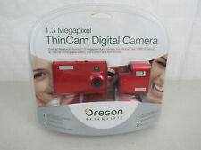 Oregon Scientific DS6628 1.3 Megapixel ThinCam Digital Camera Red- New & Sealed