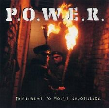 P.O.W.E.R. Dedicated To World Revolution / Nettwerk CD 1994