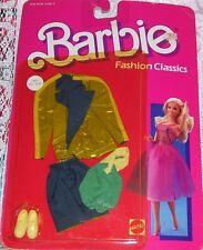 Vintage Mattel Barbie Doll 1986 Fashion Classics Outfit Clothes #2883 Nip