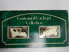 1905 NAPIER & 1095 PEERLESS Centennial Car Ingot Collection Franklin Mint