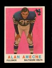 1959 TOPPS #30 ALAN AMECHE VG+ COLTS *SBA1497