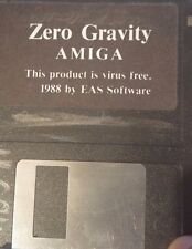 Zero Gravity (1988, EAS logiciel) Commodore Amiga (Game (Disc))
