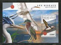 TOGO 2018  SEABIRDS  SOUVENIR SHEET  MINT NH