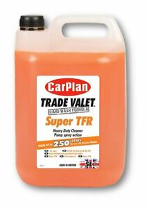 Carplan Trade Valet Super Tfr Heavy Duty Cleaner Shampoo Cleaning Auto 5 Litre