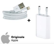 KIT SPINA ORIGINALE APPLE + CAVO LIGHTNING ORIGINALE APPLE IPHONE 5 6 S 7 8 X