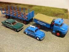 1/87 Brekina MB 322 Hell Drivers +2 PKW SONDERPREIS 18,99 statt 29,90   47122