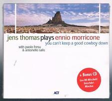 JENS THOMAS PLAYS ENNIO MORRICONE  CD + BONUS CD SIGILLATO!!!
