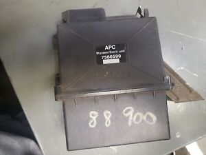 Saab 900 turbo APC computer 7566599 styrdon/control unit