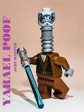 LEGO STAR WARS JEDI YARAEL POOF ALIEN 100% LEGO CUSTOM JEDI MASTER CLONE WAR NEW