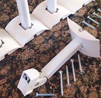 1 Bose UB-20W {Long Neck} Speaker Mount Jewel/Other Cube Speaker Mult Avail UB20